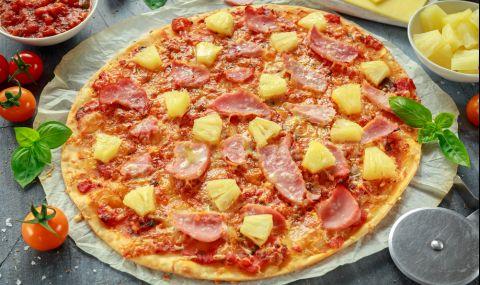 Рецепта за вечеря: Хавайска пица