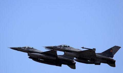 Южна Корея приземи своите Ф-16 след проблем с двигател и катапултирал пилот