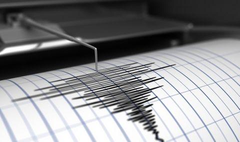 Земетресение с магнитуд 3,9 в Егейско море, на 313 км от София