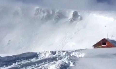 Предупреждават за висока лавинна опасност - 1