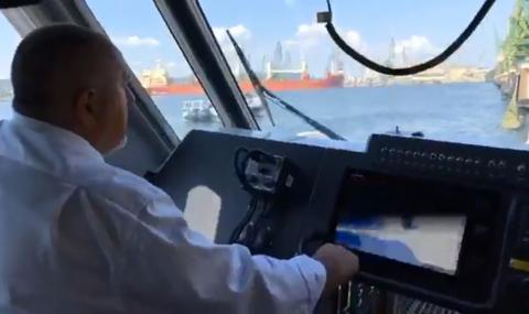 Борисов подкара и катер (ВИДЕО)