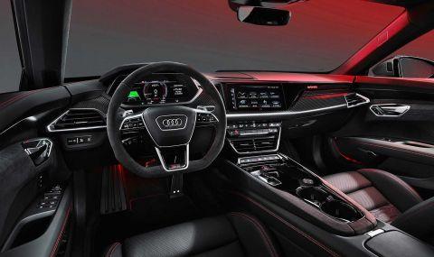 Audi представи електрическия E-Tron GT заедно с най-мощната RS версия - 8
