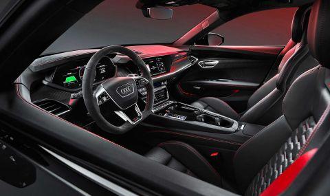 Audi представи електрическия E-Tron GT заедно с най-мощната RS версия - 9