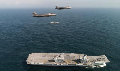 Вашингтон: Този самолетоносач ще спре Иран