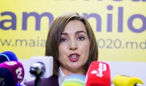 Мая Санду е обявена за държавен глава на Молдова