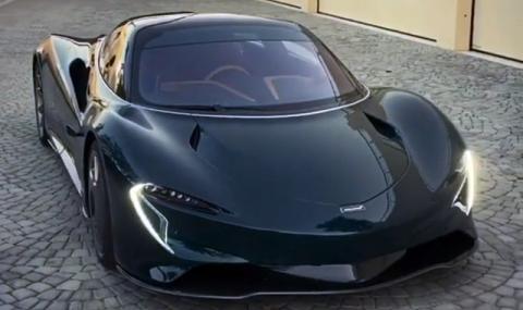 Българинът, направил най-бързия McLaren, показа един от първите регистрирани екземпляри (ВИДЕО)