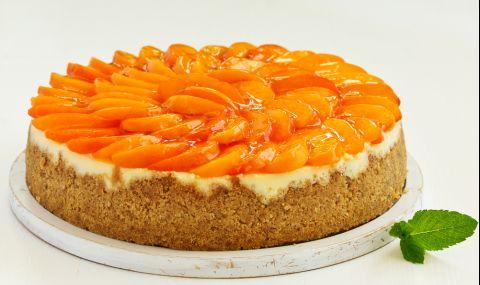 Рецепта на деня: Торта с праскови