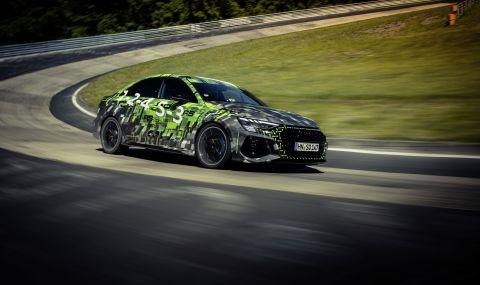 Audi RS3 официално е най-бързата серийна кола от своя клас на Нюрбургринг  - 1