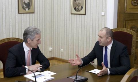 Президентът: България подкрепя европерспективата на Молдова