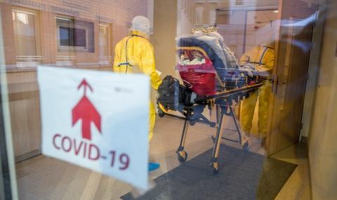 В Белгия болните възрастни, заразени с Ковид-19, няма да бъдат приемани в болница
