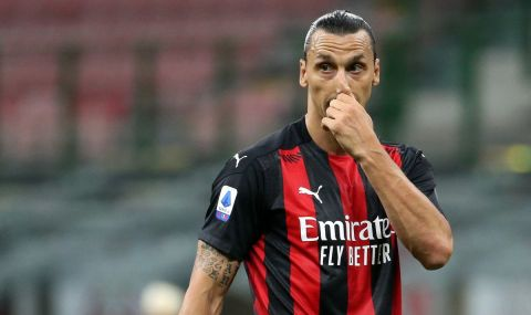 Ибрахимович се разбра с Милан за нов договор