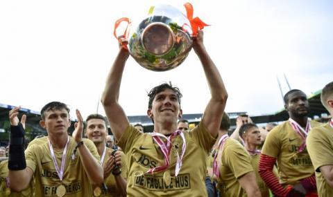 Отборът на Божидар Краев стана шампион на Дания