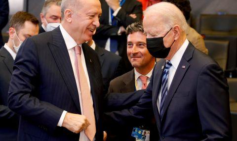 Ердоган след разговор с Байдън: Няма нерешими въпроси между нашите държави