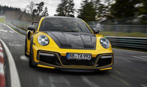 TechArt показа чудовищно Porsche 911 Turbo S - 2