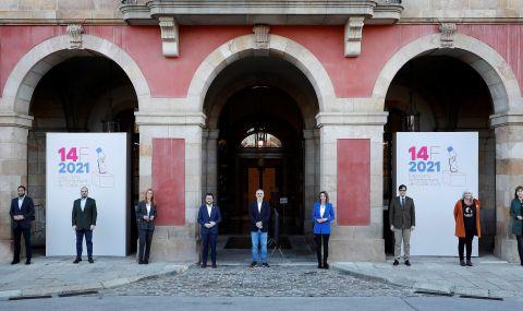 Призив за активност на вота в Каталуния