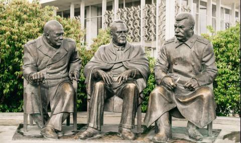 7 февруари 1945 г. Тайната вечеря на Сталин, Рузвелт и Чърчил