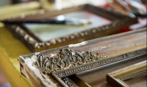 Мъж намери картини на 350 години в кофа за боклук