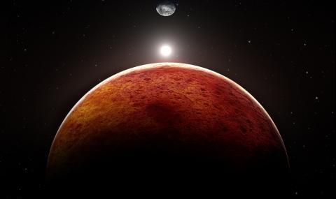Тази вечер Марс ще се вижда най-ясно от 32 години насам