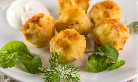 Рецепта за вечеря: Картофени крокети с кашкавал
