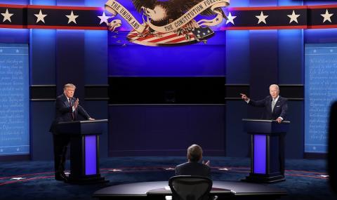 Проучване: Байдън е спечелил дебата с Тръмп