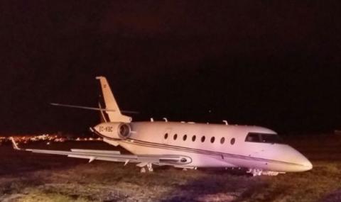 Самолетът на Роналдо кацна в Торино, но без звездата на Ювентус