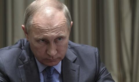 Враг на Кремъл: Путин е в паника