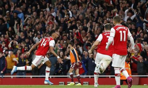 Арсенал с драматичен успех над Астън Вила