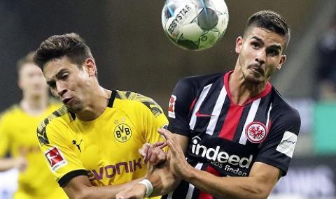Борусия Дортмунд загуби нови точки, автогол донесе малко радост на Айнтрахт