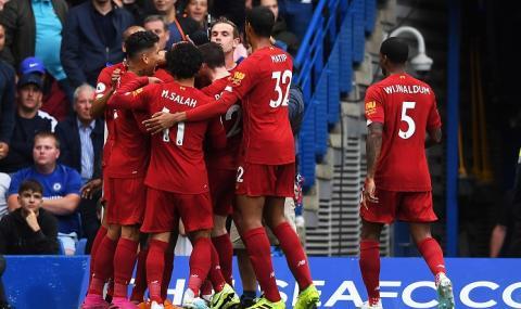 Ливърпул надхитри Челси и постигна 15-а поредна победа във Висшата лига!