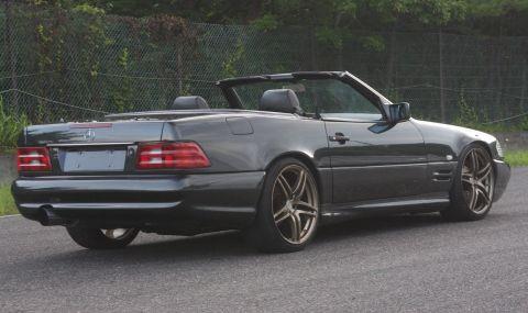 Продава се Mercedes SL с двигател от Toyota и седалки от Ferrari - 4