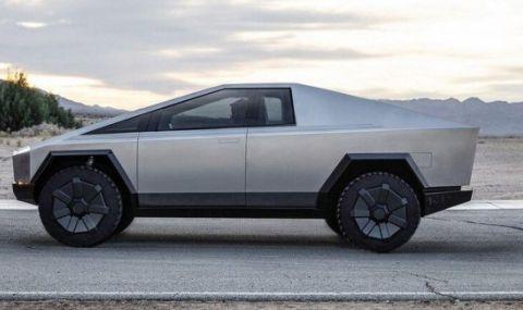Tesla Cybertruck ще може да зарежда безплатно в движение