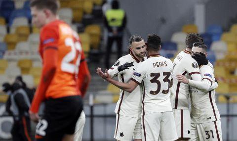 Без изненади: Рома е на 1/4-финал в Лига Европа