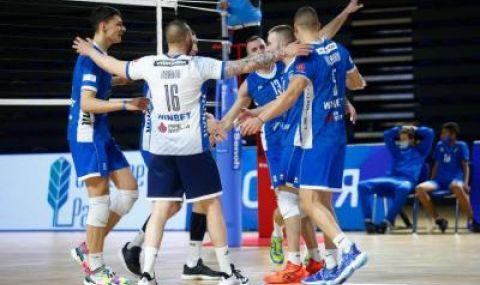 Хебър и Левски са на 1/2-финалите във волейболната Суперлига на България