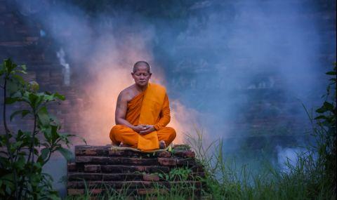 Какво се случва с телата на будистките монаси след смъртта им? - 1