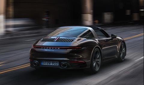 Запознайте се с новото Porsche с познатия странен таван