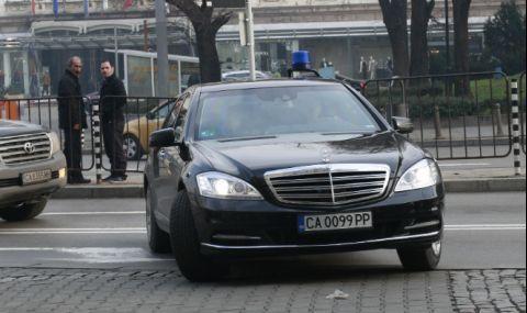 Кола на НСО се заби в друг автомобил в столицата - 1