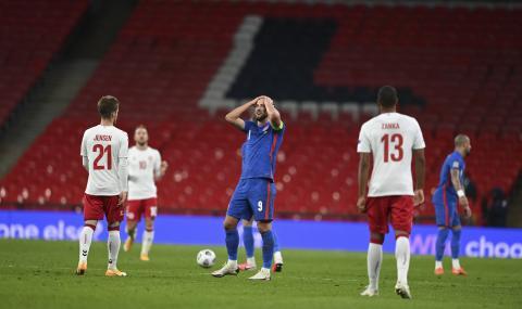 Дания шокира Англия на Уембли