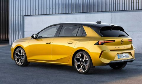 Новата Astra дебютира с променена визия и хибридно задвижванe - 3