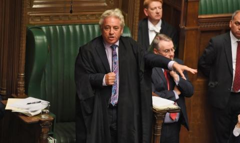 Джон Бъркоу се оттегля от британския парламент