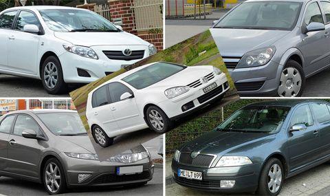 Пет евтини коли на бензин, които се развалят много рядко