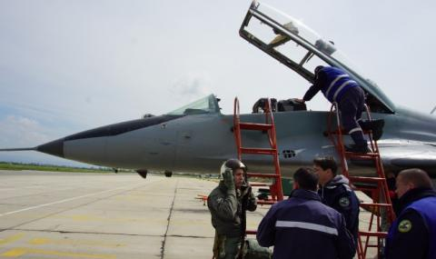 Американски F-16 ще пазят небето ни до края на октомври