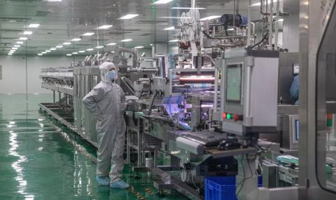 Предприятията в Китай работят на пълни обороти