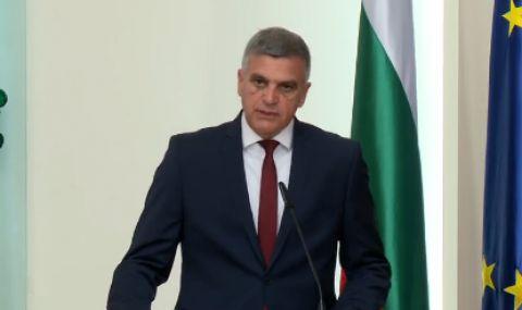 Служебният премиер Стефан Янев: Наш основен приоритет е провеждането на свободни, честни и демократични избори
