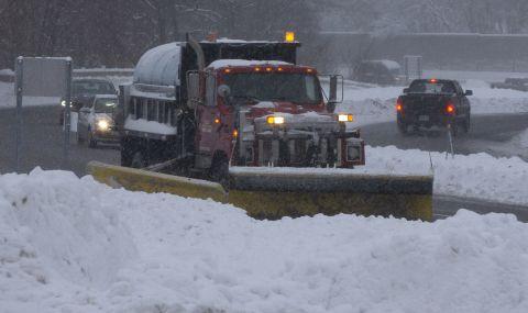 Сняг и заледяване във Великобритания