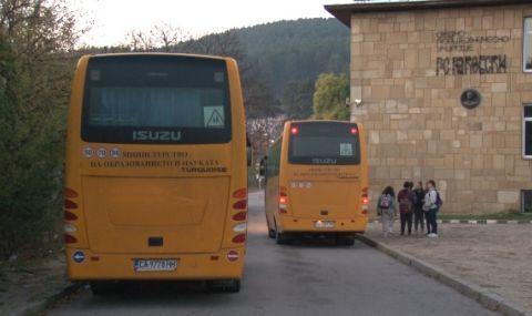 Ученическите автобуси в София тръгнаха при слаб интерес