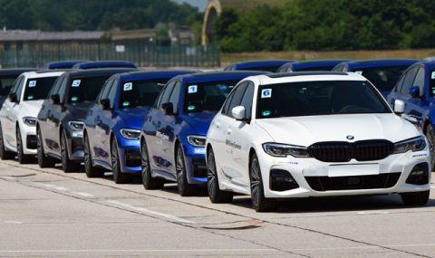10 000 BMW-та стоят недовършени в заводите на компанията