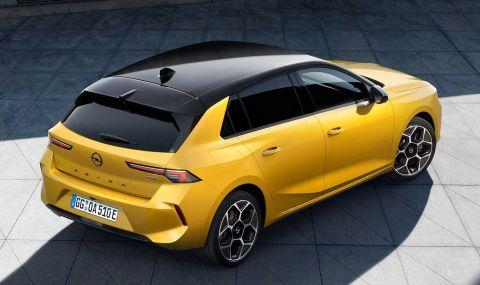 Новата Astra дебютира с променена визия и хибридно задвижванe - 4