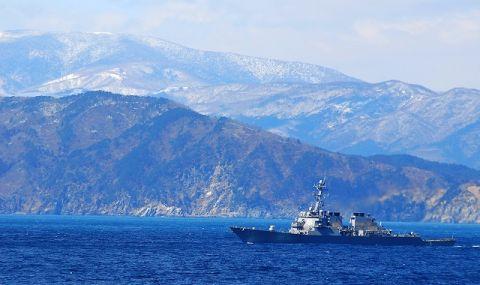 Под наблюдение! Руският флот следи USS Ross в Черно море - 1