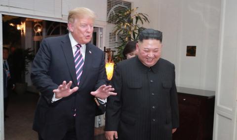Тръмп: Ким, хайде да се срещнем, ако видиш това съобщение!