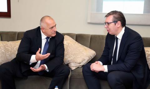 """Вучич идва в България, за да инспектира АМ """"Европа"""" и """"Балкански поток"""" с Борисов"""